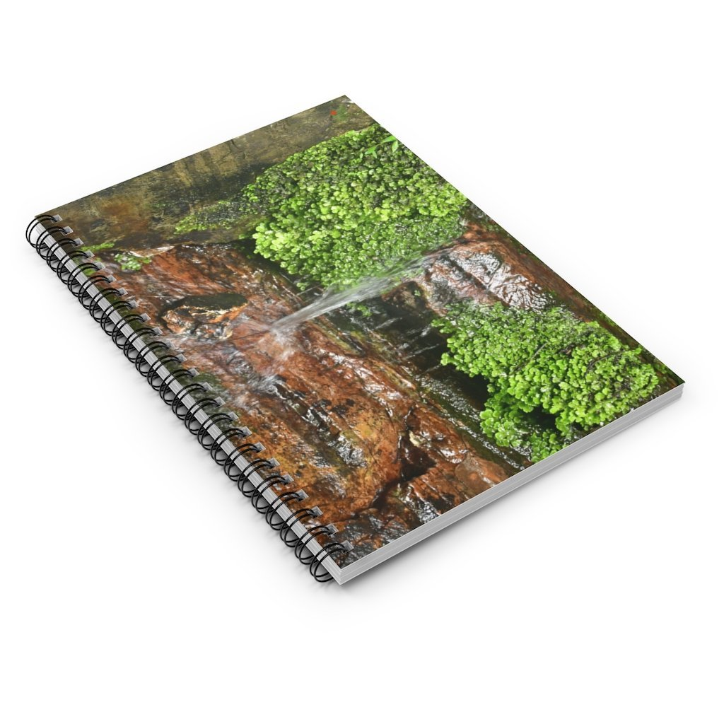 US PRINT - Spiral Notebook - Ruled Line - Bring home the most remote, rarely seen, regions of the rainforest in Puerto Rico. - Yunque Store
