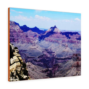 viewsAmericas Jewels 💎 US NPS - GRAND CANYON - US Made Canvas Gallery Wraps - 1 Mile Deep x 18 Wide - Immeasurable and Immense - unique views for Home and Office - Arizona - Yunque Store