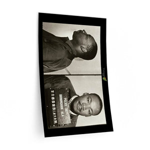 Wall Decals - Dr. MARTIN LUTHER KING JR Birmingham Alabama jail photo - Yunque Store