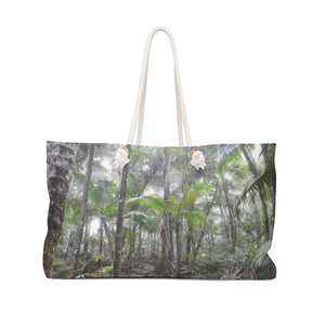 Weekender Bag - Before Hurricane Maria in 2017 - Cloud Forest in El Yunque rain forest PR - Yunque Store
