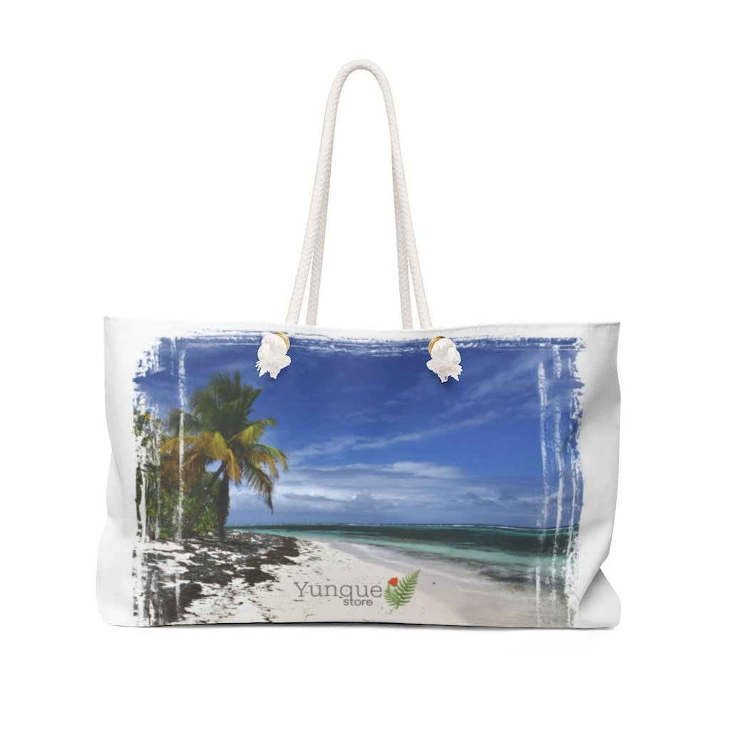 Weekender Bag - Carry around a Paradise - remote Mona island puerto rico - Yunque Store