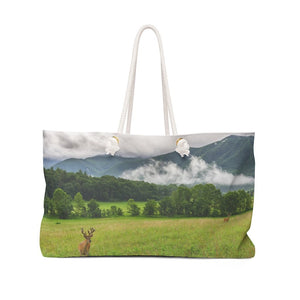 Weekender Bag - Celebrating the Great Smoky Mountain National Park - Yunque Store