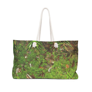 Weekender Bag - cloud forest moss / musgo de bosque de nubes - Yunque Store