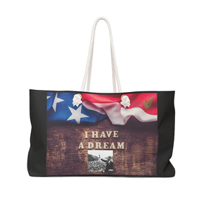 Weekender Bag - Dr. Martin Luther King Jr. - 'I have a Dream' speech in 1963 in WA DC - Yunque Store
