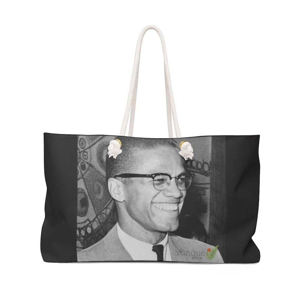 Weekender Bag - Dr. Martin Luther King Jr. - 'I have a Dream' speech in 1963 in WA DC and Malcom X - Yunque Store