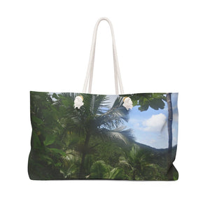 Weekender Bag - High altitude Sierra Palm cloud forest - 180 inches of rain per year - El Toro Wilderness - Yunque Store