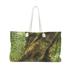 Weekender Bag - Tree tradewinds trail / arbol El Yunque - Yunque Store