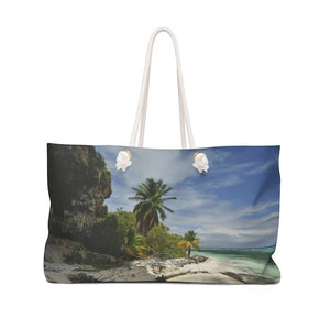 Weekender Bag - UNIQUE Mona Island remote caves and beaches - Island of Puerto Rico - Yunque Store
