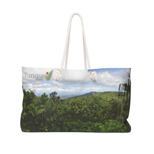 Weekender Bag - Views of El Yunque rain forest Puerto Rico Bags Printify