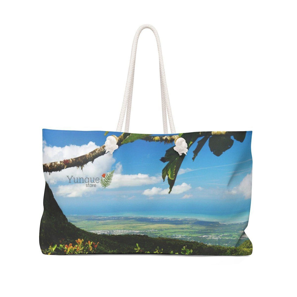 Weekender - Views of El Yunque rainforest Puerto Rico Bags Printify
