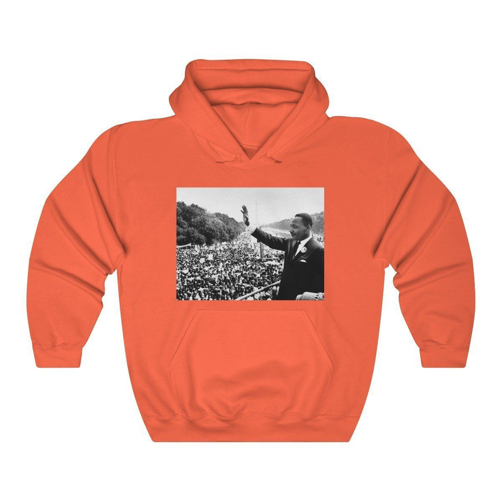Winter Sale MLK Day - Unisex Heavy Blend™ Hooded Sweatshirt - In Homage of Dr. Martin Luther King Jr. - Nobel Peace prize - 1964 Hoodie Printify