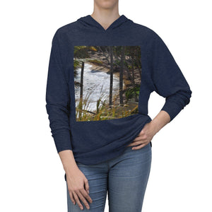 Winter Sale - Unisex Tri-Blend Hoodie - Beach and Coast - Palmas del Mar Housing complex - Puerto Rico Long-sleeve Printify