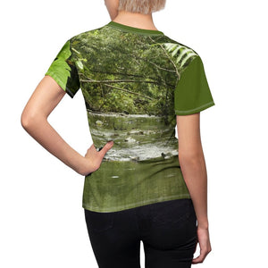 Women's AOP Cut & Sew Tee - Yunque Store