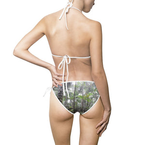 Women's Bikini Swimsuit - El Yunque PR Bamboo and Sierra palm forest - Yunque PR - Yunque Store