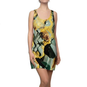 Women's Cut & Sew Racerback Dress - For the Geologist - Sulphur & Copper crystals - Smithsonian - Yunque Store
