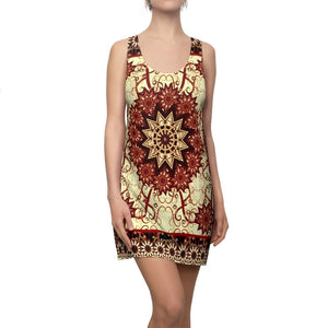Women's Cut & Sew Racerback Dress - Persian Rug - so you can fly away with it! - Yunque Store