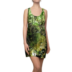 Women's Cut & Sew Racerback Dress - PURE water from El Yunque rainforest PR - Yunque Store