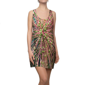 Women's Cut & Sew Racerback Dress - The seeds of the Sierra Palm - El Yunque rainforest PR - Yunque Store