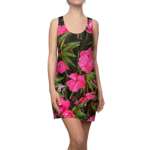 Women's Cut & Sew Racerback Dress - Tropical flowers from Monte Santo - Carite Puerto Rico - Yunque Store