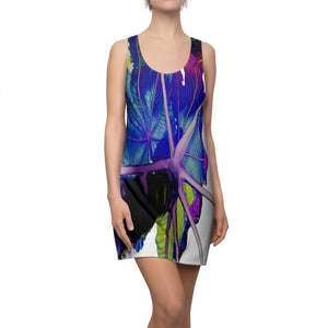 Women's Cut & Sew Racerback Dress - USA MADE IN 4 BIZ. DAYS 👍 Unisex Heavy Cotton Tee - Unique images of Yagrumo Tree & leafs from El Yunque rainforest PR - Alien 👽Vision - Yunque Store