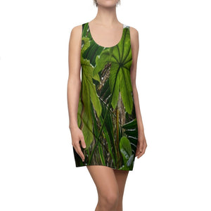 Women's Cut & Sew Racerback Dress - USA MADE IN 4 BIZ. DAYS 👍 Unisex Heavy Cotton Tee - Unique images of Yagrumo Tree & leafs from El Yunque rainforest PR - Human 👩‍🦰 Vision - Yunque Store