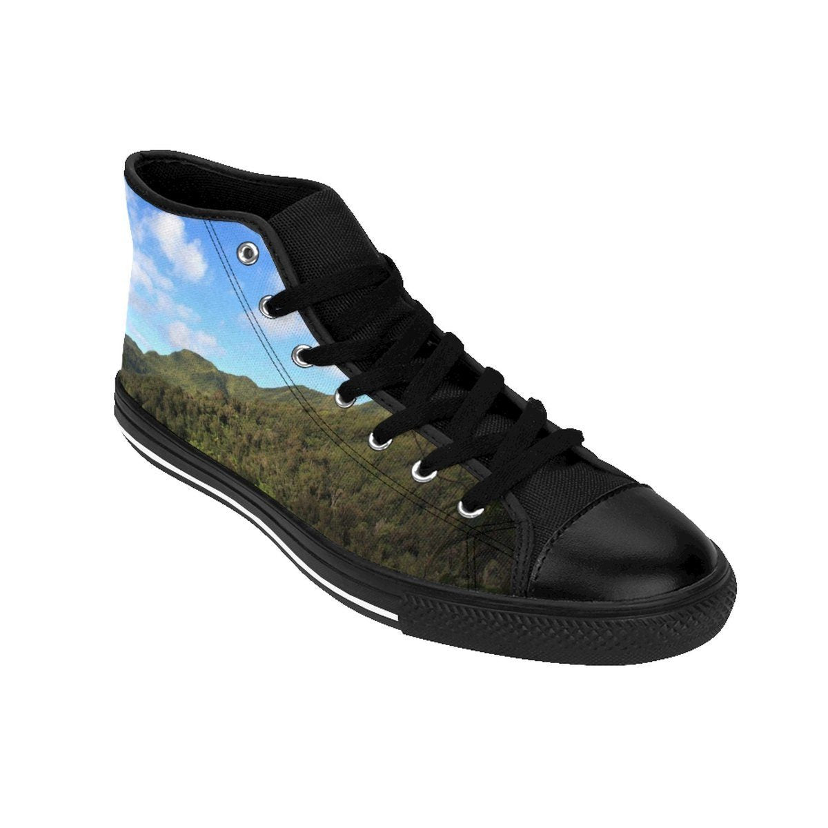 Women's High-top Sneakers - Peaks of - El Yunque rain forest PR Shoes Printify