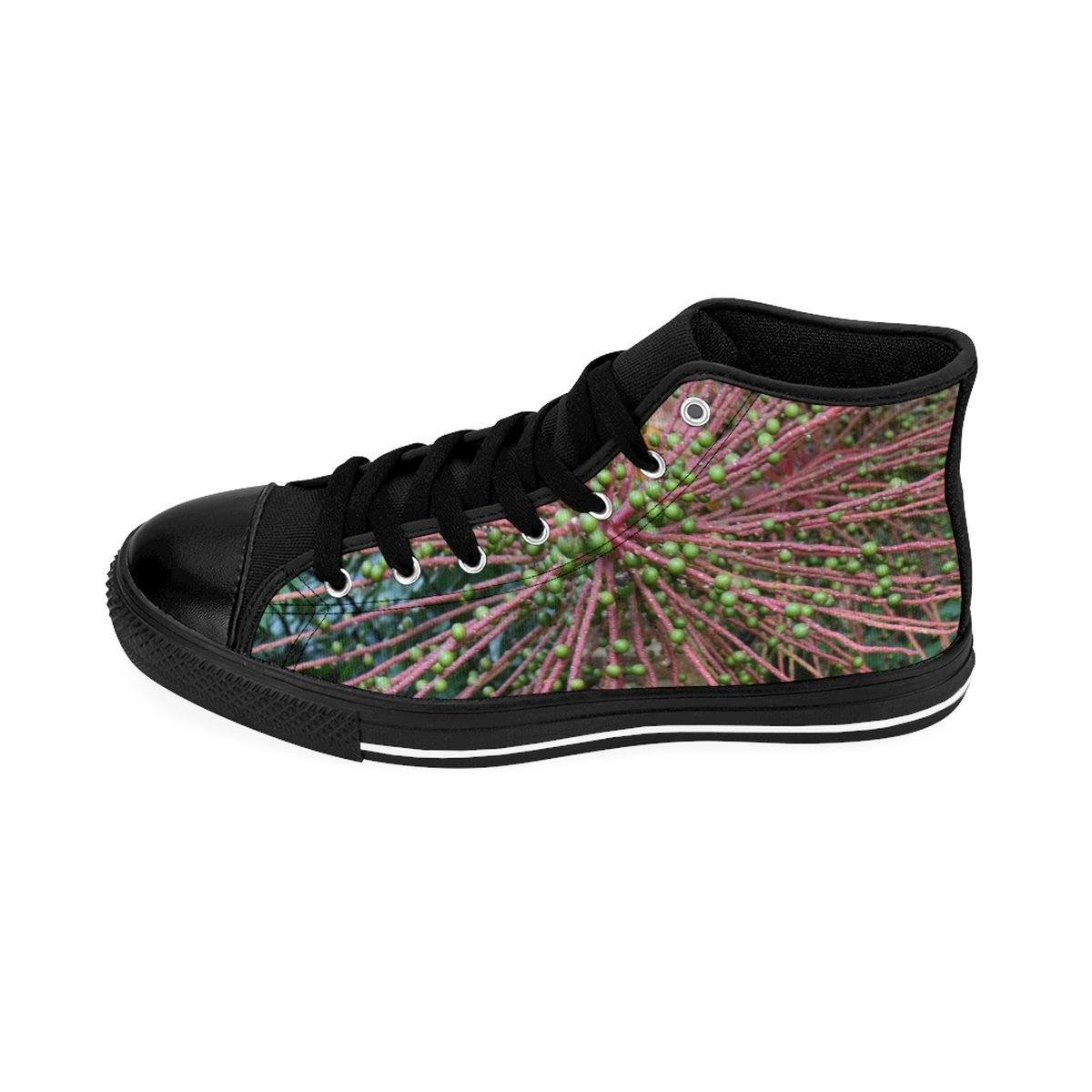 Women's High-top Sneakers - Seeds of the Sierra Palm - El Yunque rain forest PR Shoes Printify