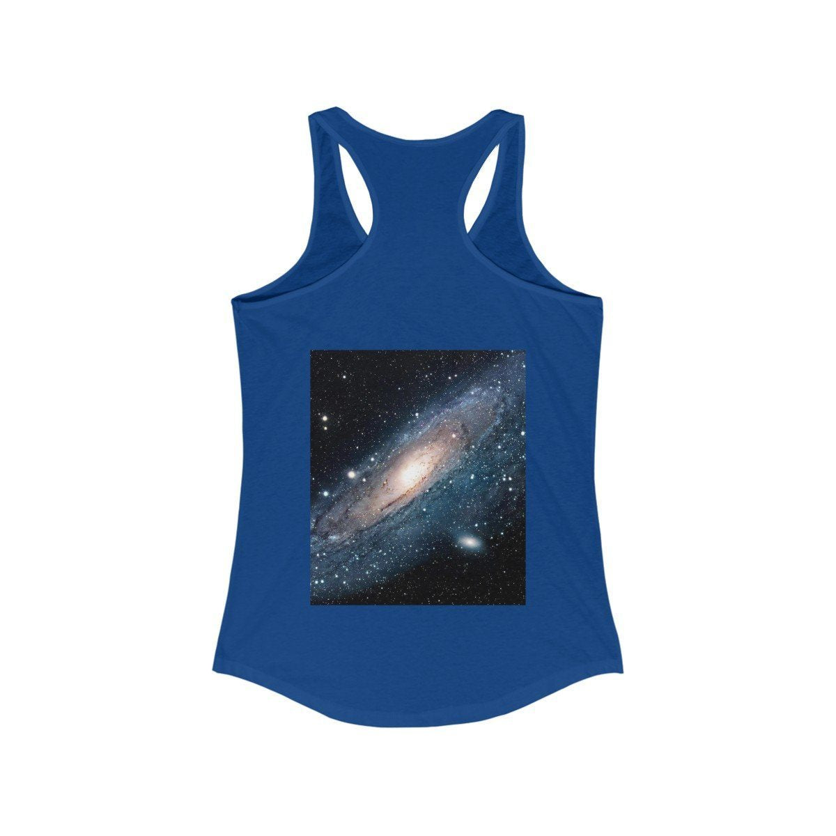 Women's Ideal Racerback Tank -The Andromeda galaxy - closest to the Earth at 2.5 million light-years - NASA image Tank Top Printify