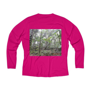 Women's Long Sleeve Performance V-neck Tee Long-sleeve Printify