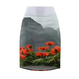 Women's Pencil Skirt All Over Prints Printify