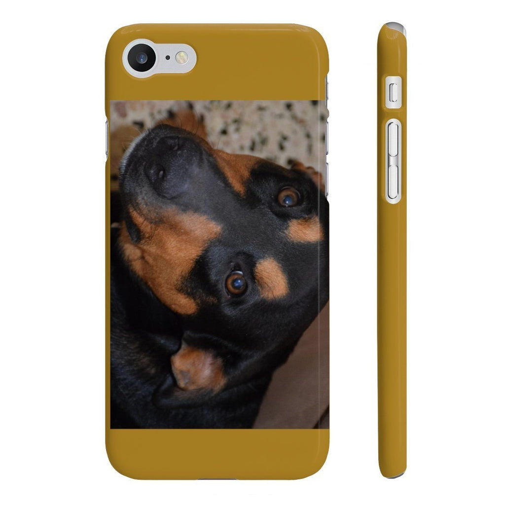 Wpaps Slim Phone Cases - Family PETS - The forest explorer dog Firo, that likes to EAT cell phones and TV controllers! Phone Case Printify