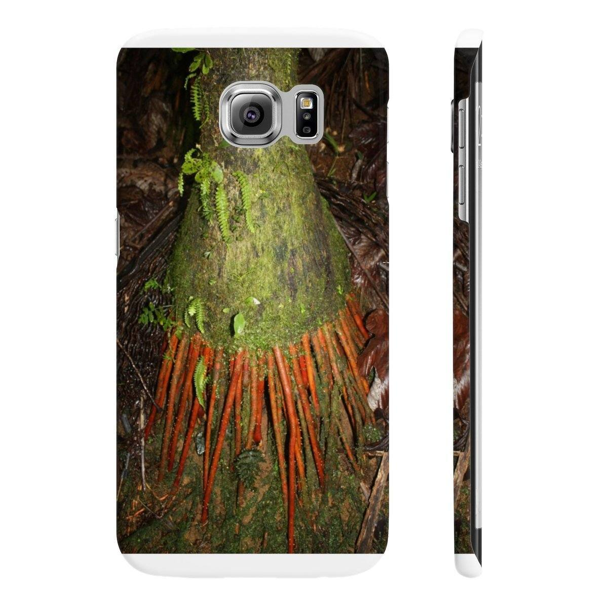 Wpaps Slim Phone Cases - Sierra Palm roots Phone Case Printify