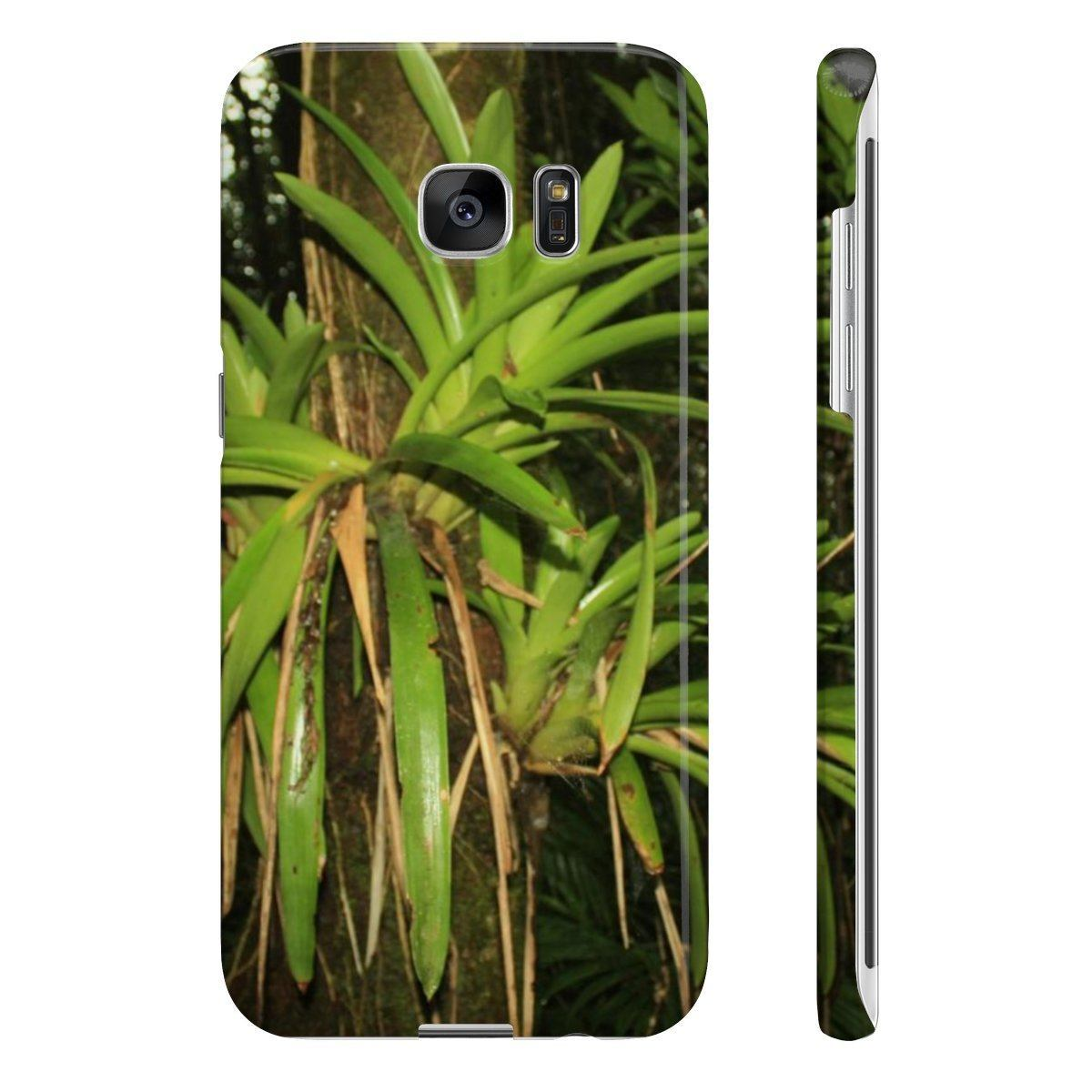 Wpaps Slim Phone Cases - UK Print - Bromeliads- El Yunque rain forest PR Phone Case Printify