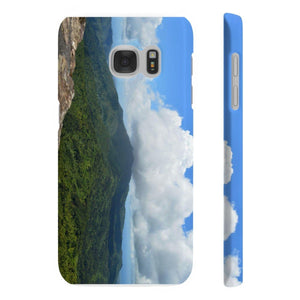 Wpaps Slim Phone Cases - UK Print - View from Mt Britton 3k feet - El Yunque rain forest PR Phone Case Printify