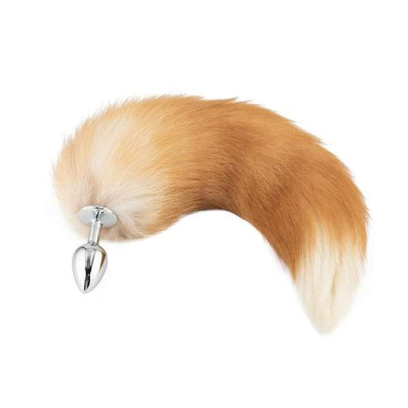 Fox Tail Plug, Light Brown 17