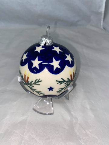 Candle Light Stars Ornament