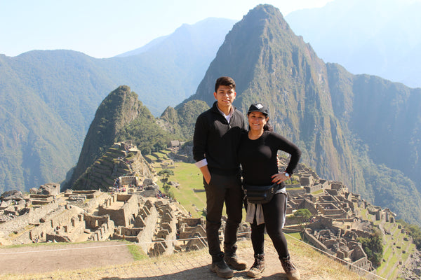 Vitalia and Mark at Machu Picchu