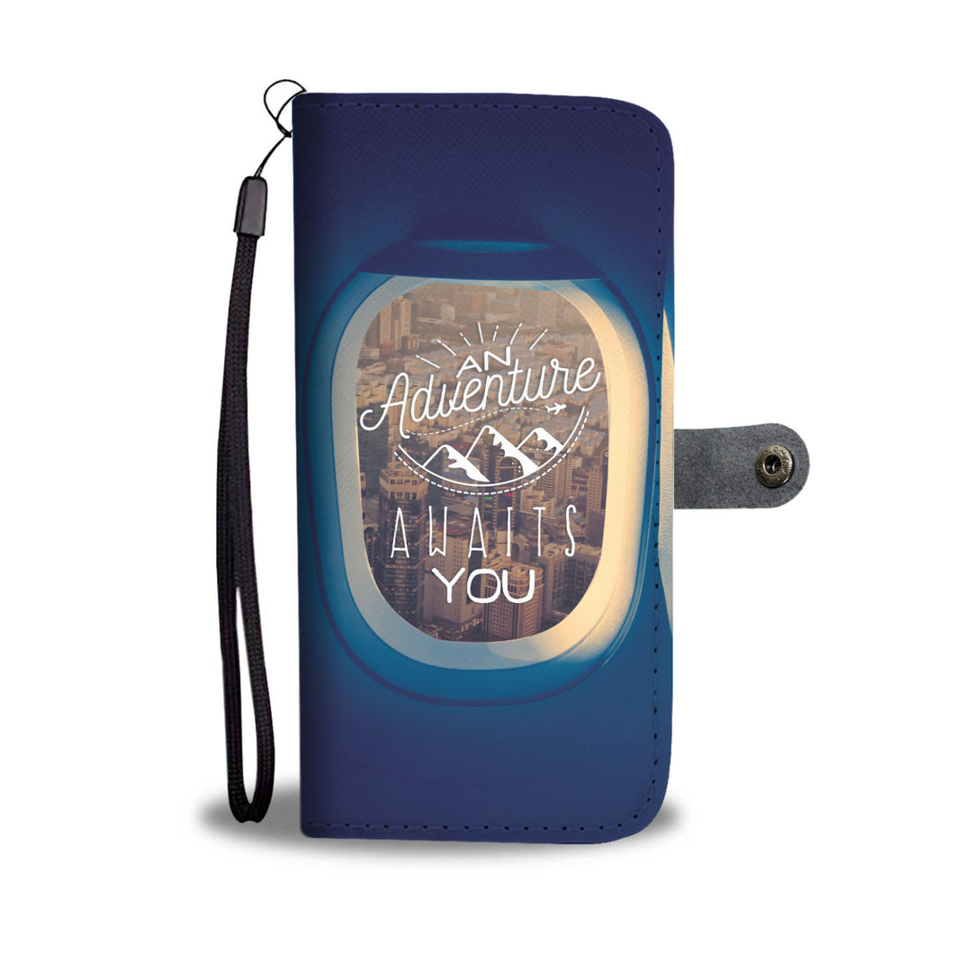 An Adventure Wallet Phone Case