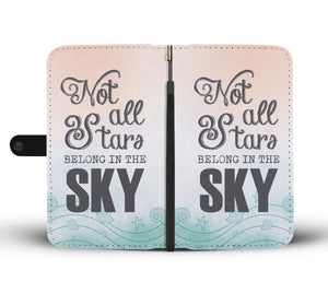 Not all Stars Wallet Phone Case