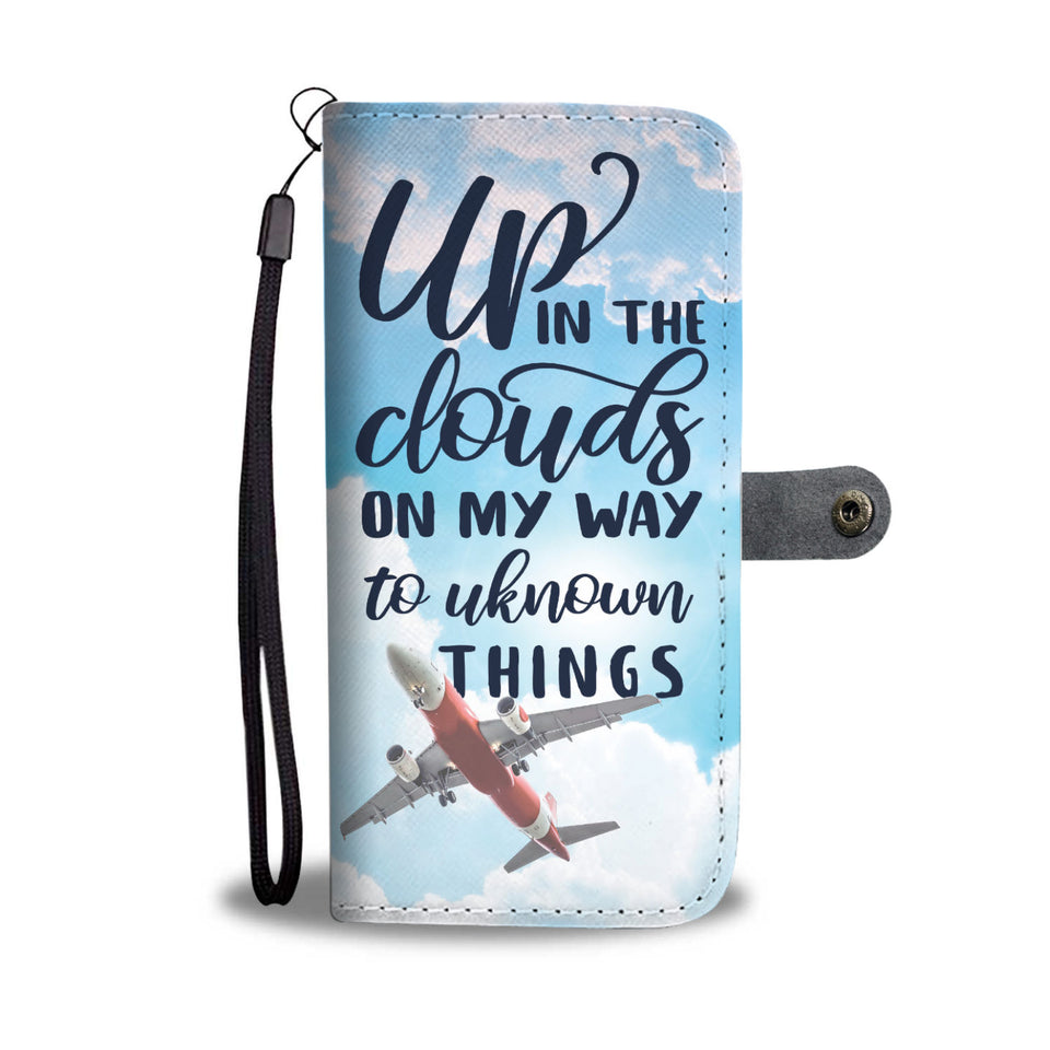 Up in the Clouds Wallet Phone Case
