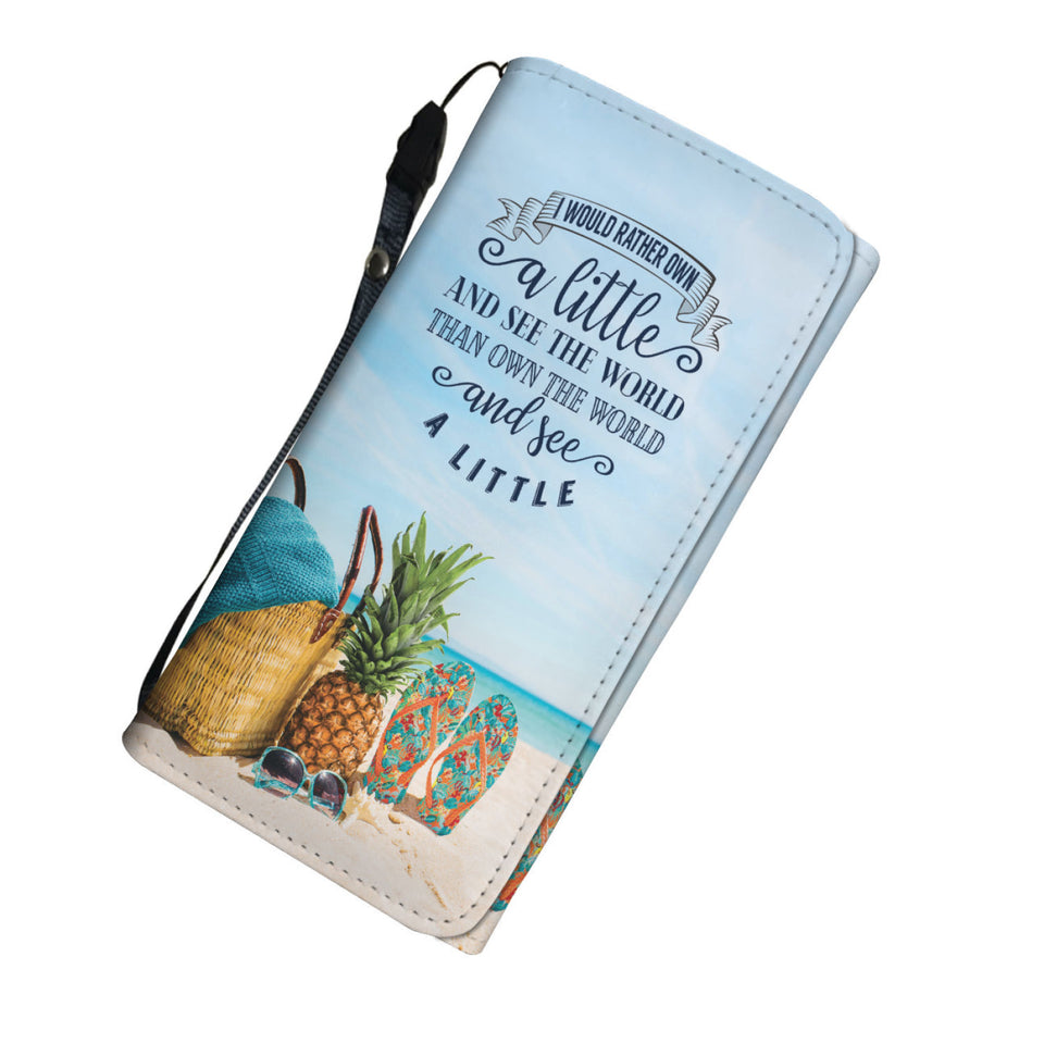 Own the World Womens Wallet