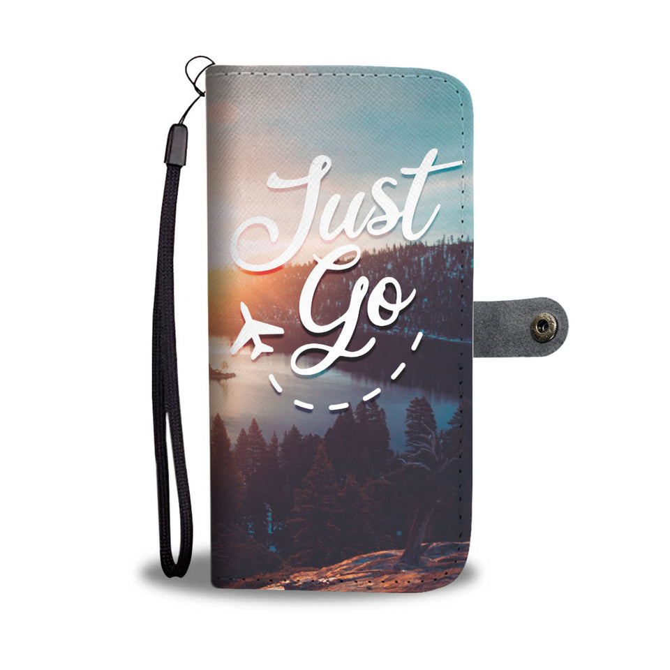 Just Go Wallet Phone Case