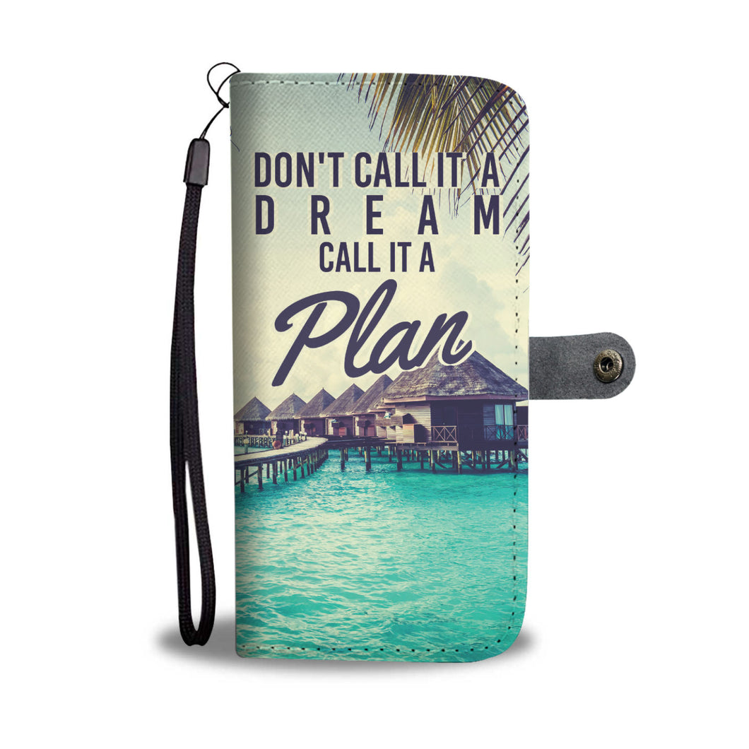 Don't Call it a Dream Wallet Phone Case