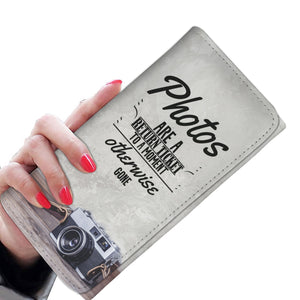 Photos are a Return Ticket Women's Wallet