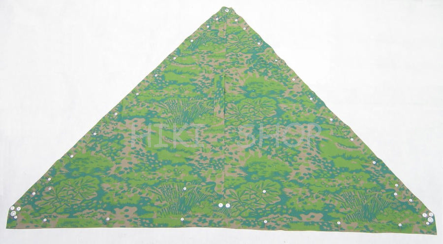 WWII German Palm Forest Camo Zeltbahn Tent
