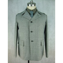 Load image into Gallery viewer, WW2 Italy Italian M35 Salt & Pepper Cotton Fatigue Tunic Jacket