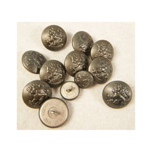 Load image into Gallery viewer, Finnish Stone Grey Pebble Grain Button 21mm X10 15mm X2
