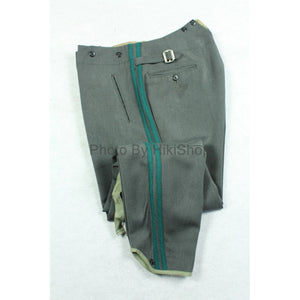 WWII Finland Finnish Stone Grey Gabardine Officer Breeches