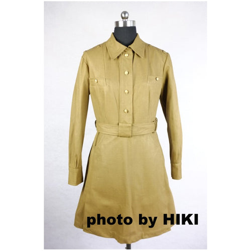 WW2 Soviet Union Russia M43 Servicewoman Dress Uniform Tan