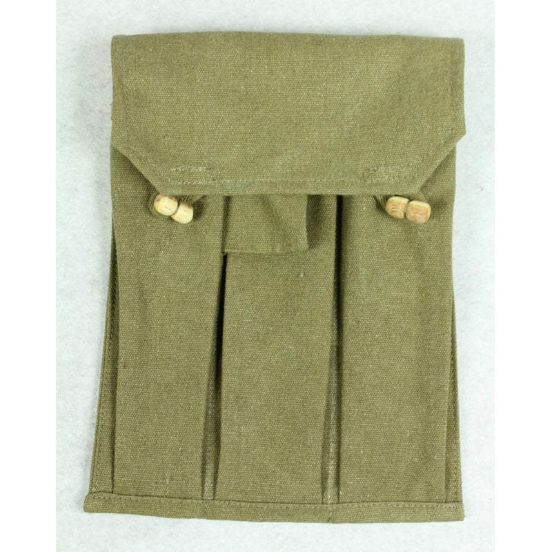 WW2 Soviet Red Army PPSH Ammo Pouch Green Reproduction